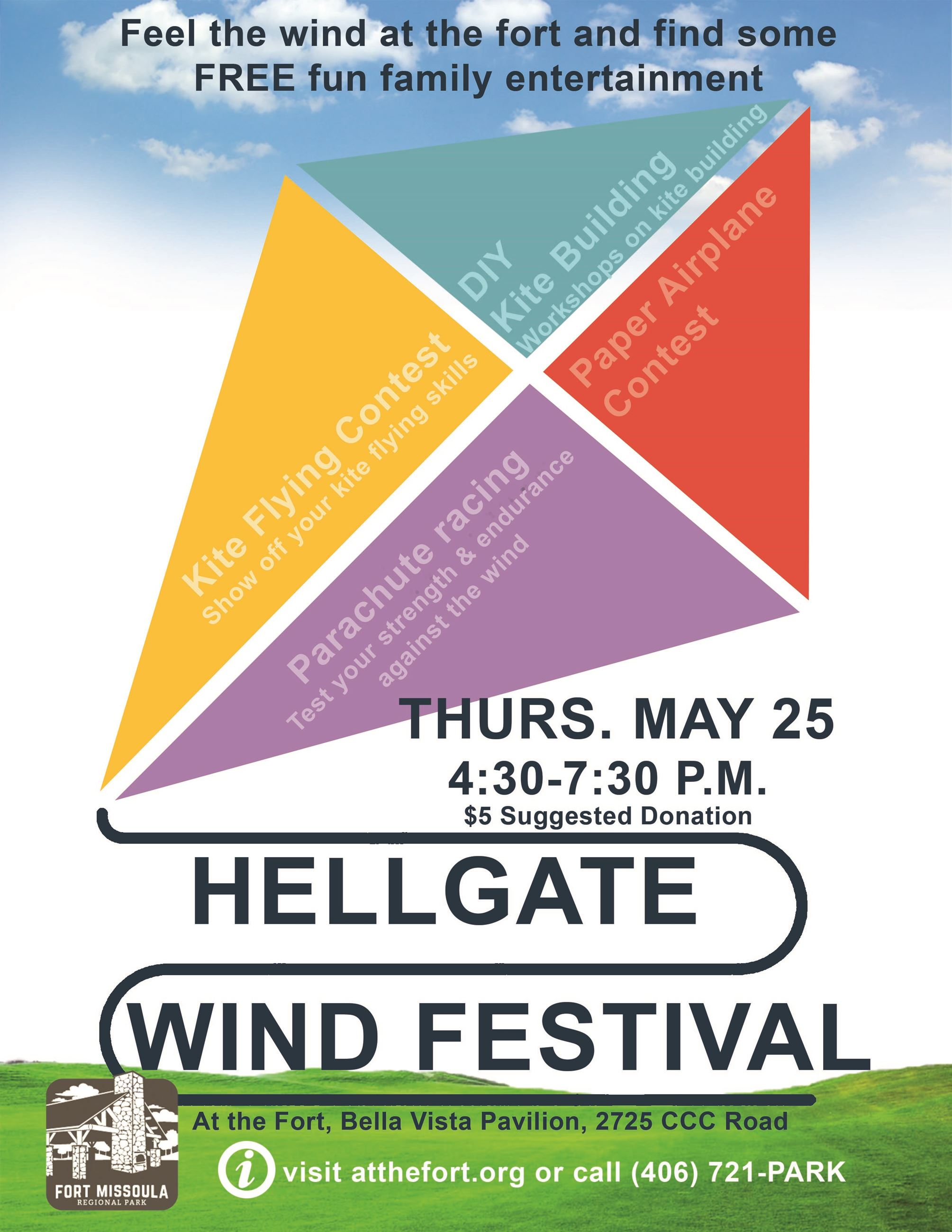 HEllgate wind fest flyer