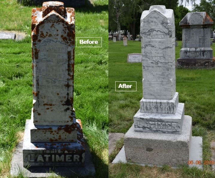 Latimer before and after