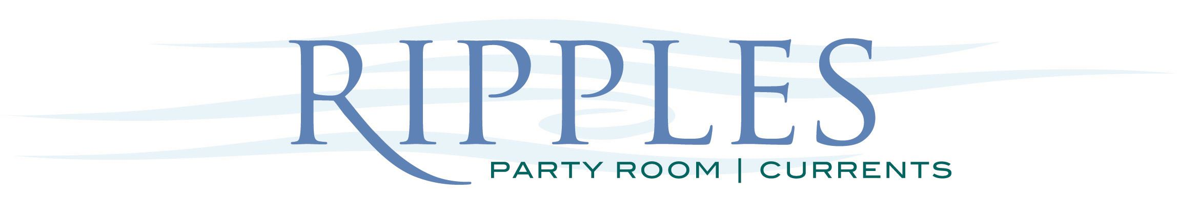 Ripples Party Room logo